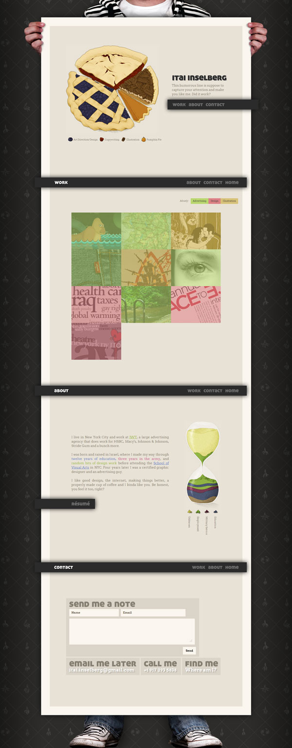 itaiinselberg 25 Awesome Website Layouts