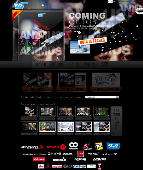 pvscompany 25 Awesome Website Layouts