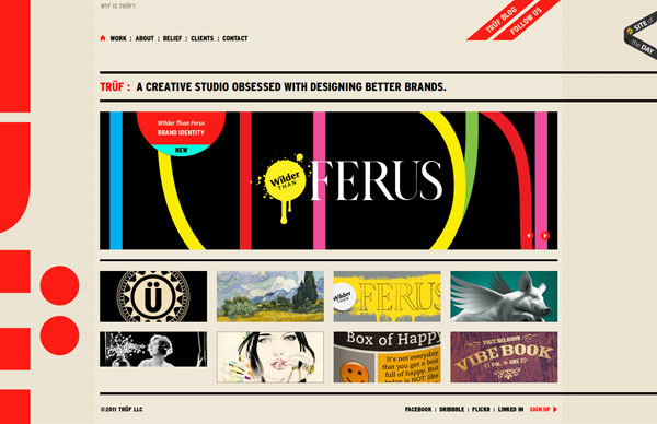 trufcreative 20 Excellent Website Layouts Ideas