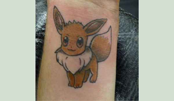 eevee wrist tattoo 50 Splendiferous Wrist Tattoos