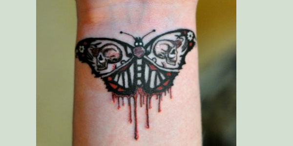moth tattoo 50 Splendiferous Wrist Tattoos