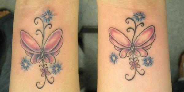 Wrist Butterflies