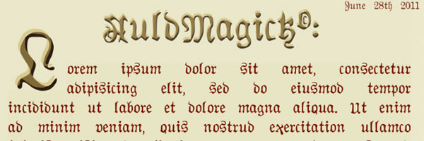 auldmagick 20 Best Serif Fonts