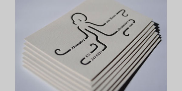 alexandra 25 Great Business Card Ideas