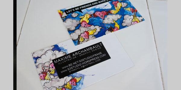 archambault 25 Great Business Card Ideas
