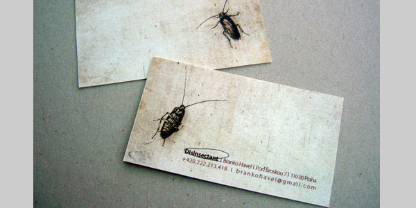 bug killer card 25 Great Business Card Ideas
