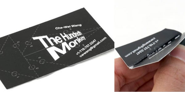 chwwang 25 Great Business Card Ideas