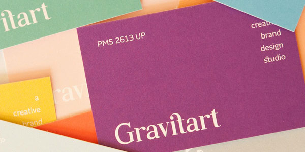 gravitart color guide business cards 25 Great Business Card Ideas