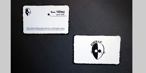 kontrast 25 Great Business Card Ideas