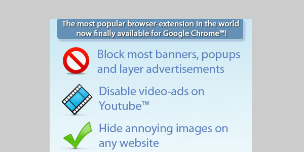 adblock plus 25 Best Chrome Extensions For Everyone