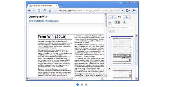 Docs PDF/PowerPoint Viewer