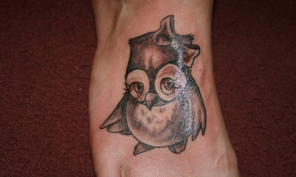 owl tattoo 20 Cute Tattoos
