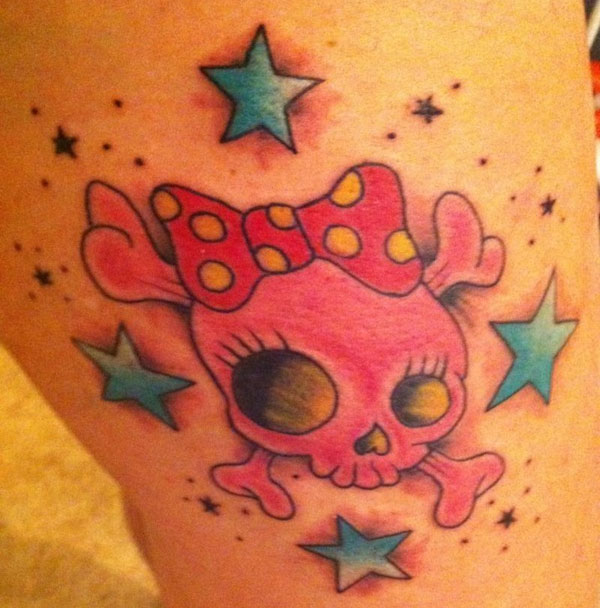 skull 20 Cute Tattoos