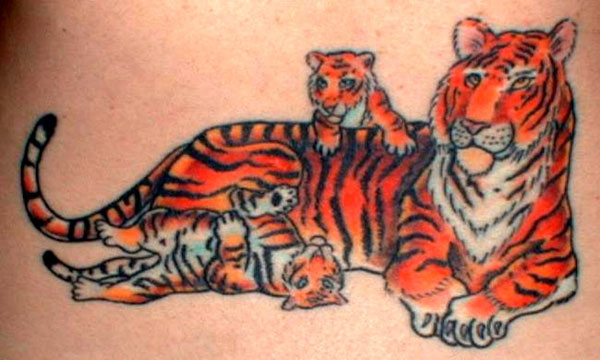 tigeress tattoo 20 Cute Tattoos