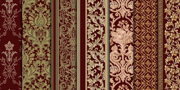 damask seies 15 Damask Pattern Collection
