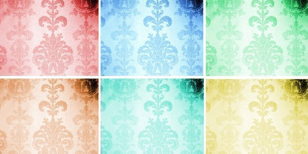 ornate textures 15 Damask Pattern Collection