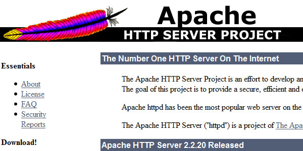 apache project 22 Free Open Source Web Design Tools