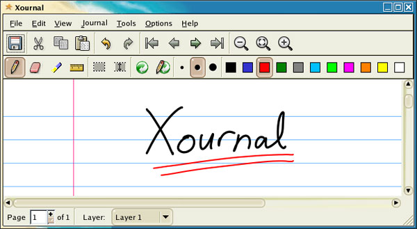 xournal 15 Top Open Source Design Tools