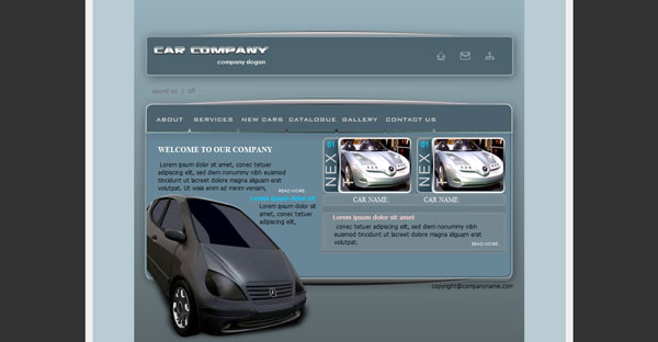 Car Website Template