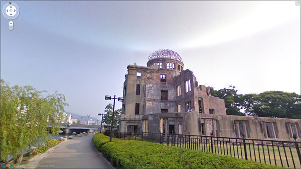 hiroshima peace 20 Great Google Maps Street Views