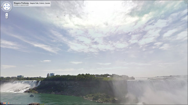 niagara falls 20 Great Google Maps Street Views