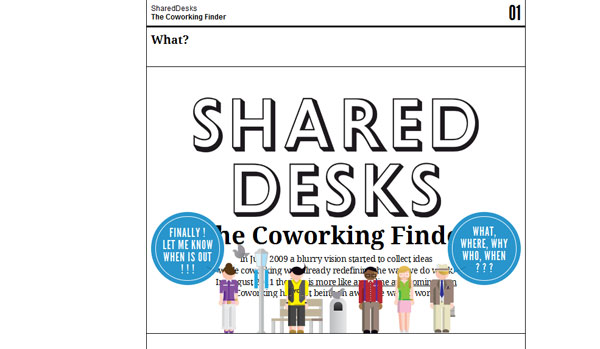 Shared Desks