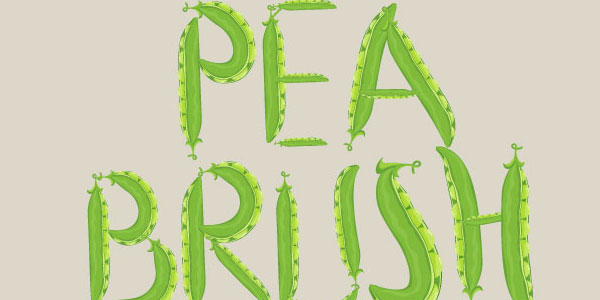 Green Peas Illustrator Brush