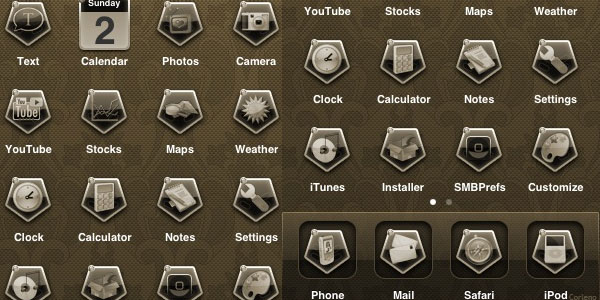 chellaga antique 15 Free iPhone App Icons