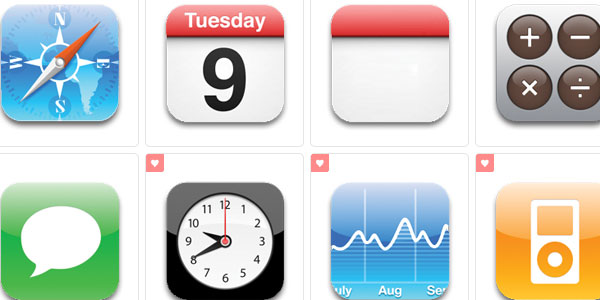 iPhone Icons by judge