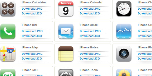 iphone 15 Free iPhone App Icons