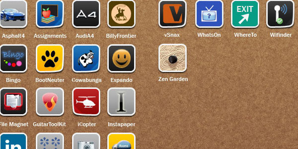 summerboard 15 Free iPhone App Icons