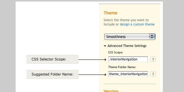 Using Multiple jQuery UI Themes on a Single Page