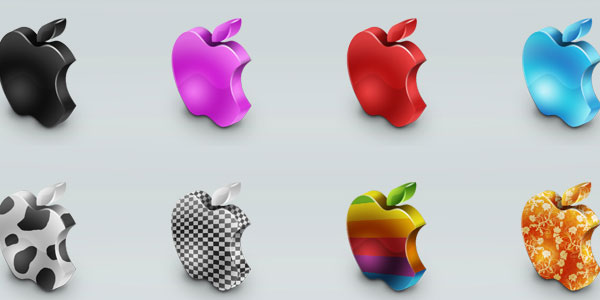 mac 3D icon set 25 Cool MAC Icons