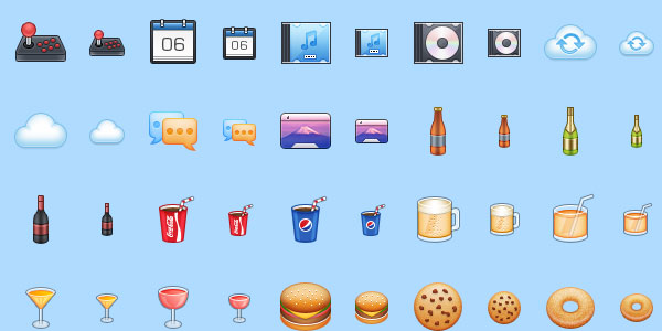 mac iconset 25 Cool MAC Icons