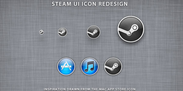 Steam Replacement Icon