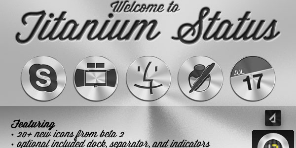 titanium icon set 25 Cool MAC Icons
