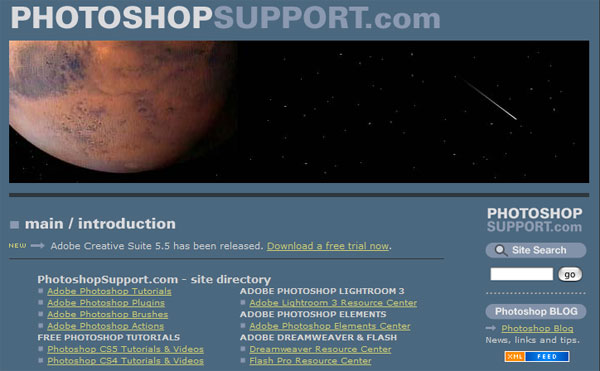 photoshopsupport 15 Best Resources For Learning Photoshop Online