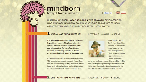mindborn 20 Mind Blowing Websites With Parallax Scrolling