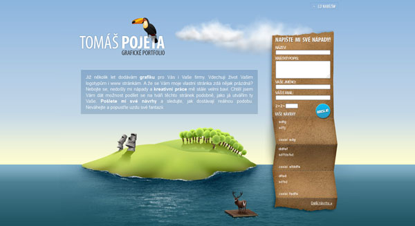 pojeta 20 Mind Blowing Websites With Parallax Scrolling