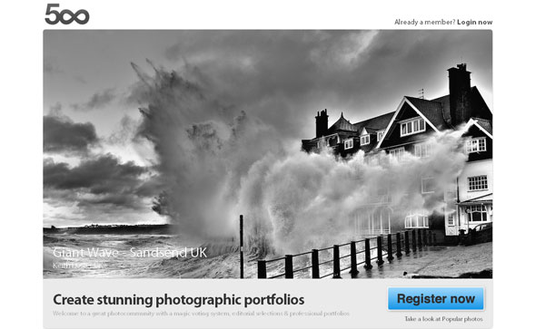 500px 20 Top Photography Websites
