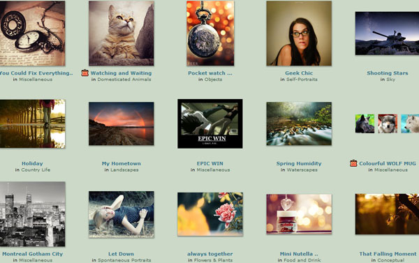 deviantart 20 Top Photography Websites