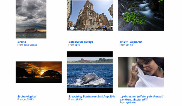 flickr 20 Top Photography Websites