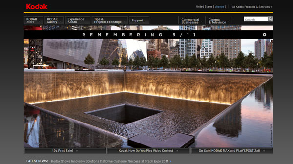 kodak 20 Top Photography Websites