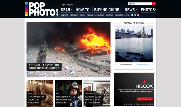 popphoto 20 Top Photography Websites