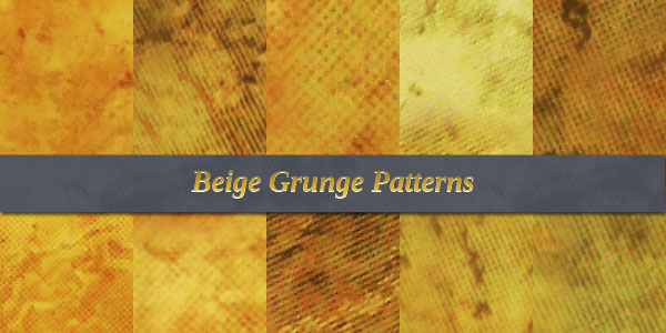 Beige Grunge Free Patterns