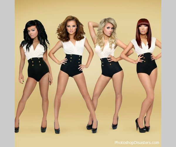 girlband 25 Funny Photoshop Disasters