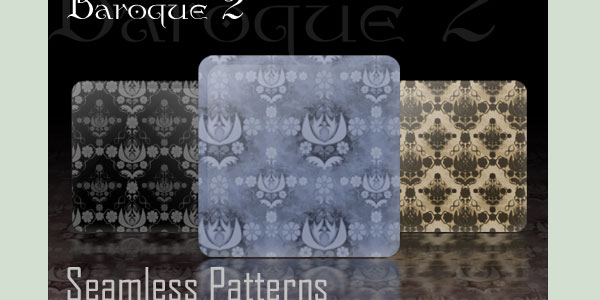 baroque seamless patterns 20 Great Seamless Backgrounds