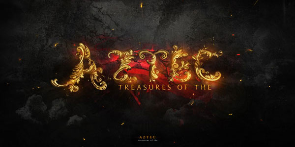 Create Gold Ornamental Text in Photoshop