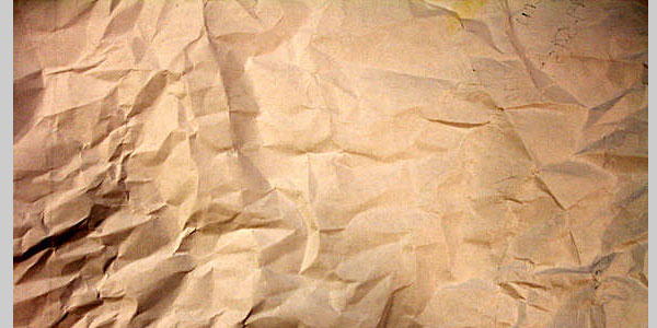 old crumpled paper 40 Best Textured Backgrounds