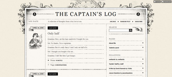 nauticaltheme 40 Awesome Tumblr Themes